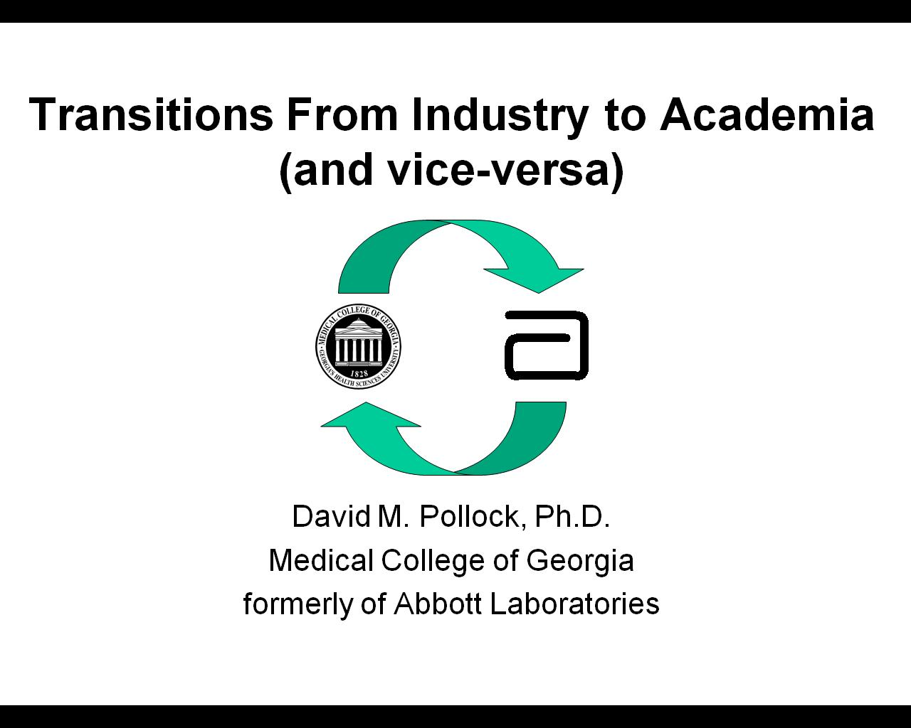 Search Results Two Way Switch Bbc Bitesize Career Transitions From Industry To Academia And Vice Versa David Pollock Medical College Of Georgia Meeting Presentation Video Web Page Html
