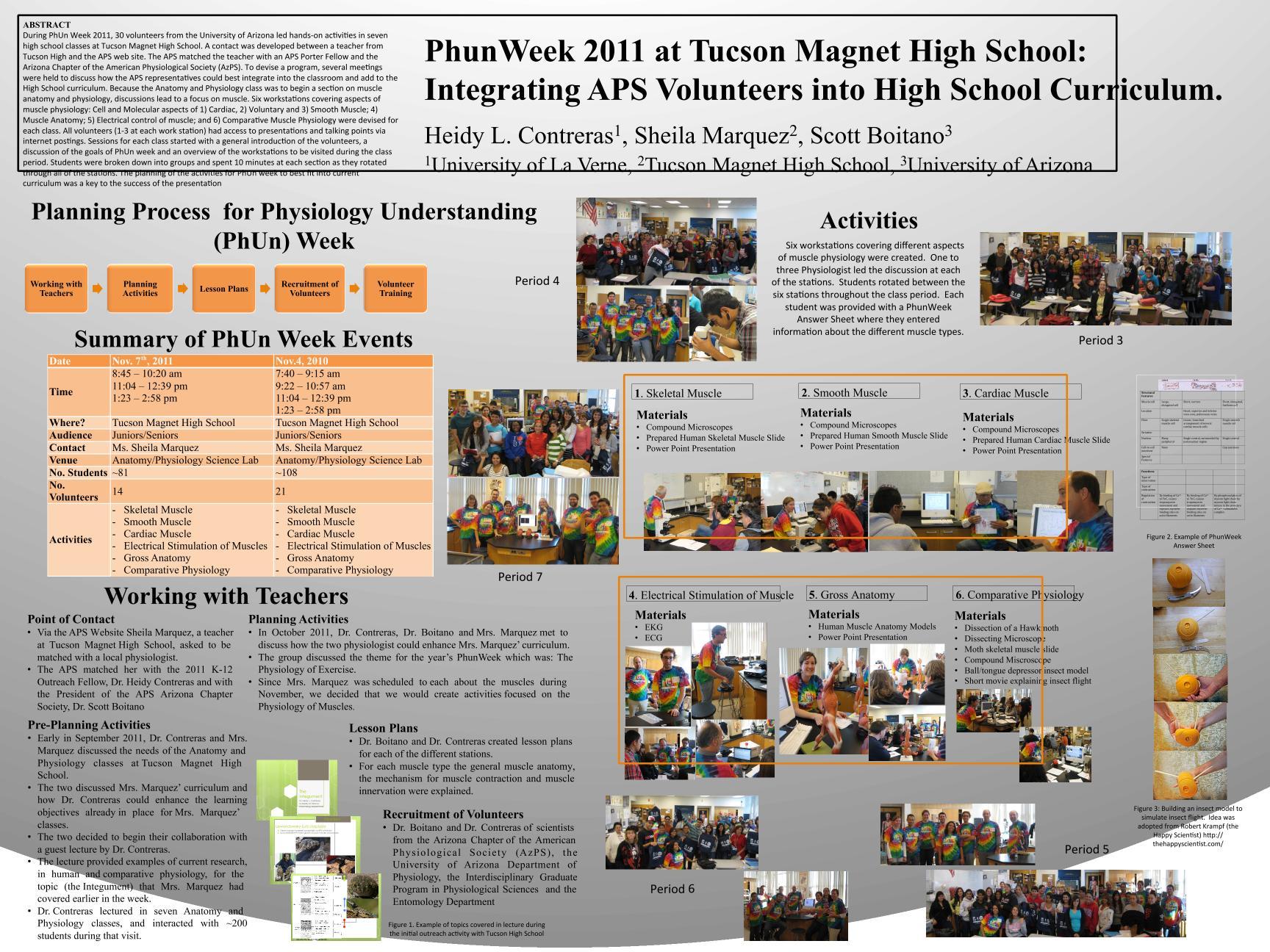 Lifescitrc Phunweek 2011 At Tucson Magnet High School