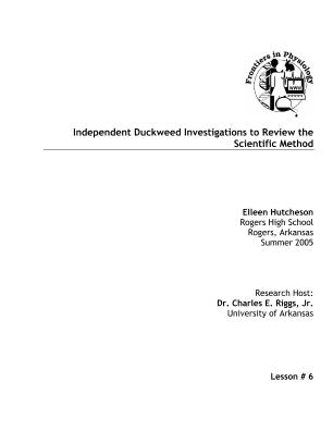 lifescitrc search results Cover Letter for Resume independent duckweed investigations to review the scientific method elleen hutcheson rogers high school assessment tool laboratory or hands on activity